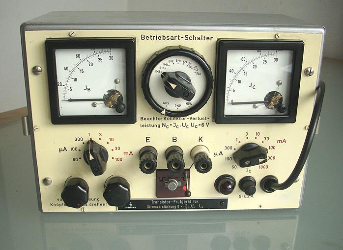 Transistorprüfgerät
